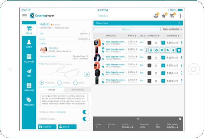 ipad tablet nousmedis automatizacion catalogplayer marketing cege lab catalogo