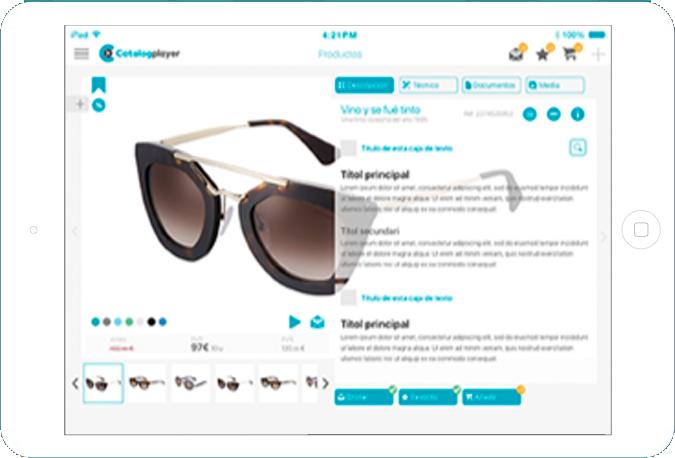 ipad nousmedis automatizacion catalogos publicaciones producto